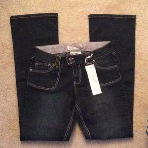 YMI size 14 NWT dark blue jeans